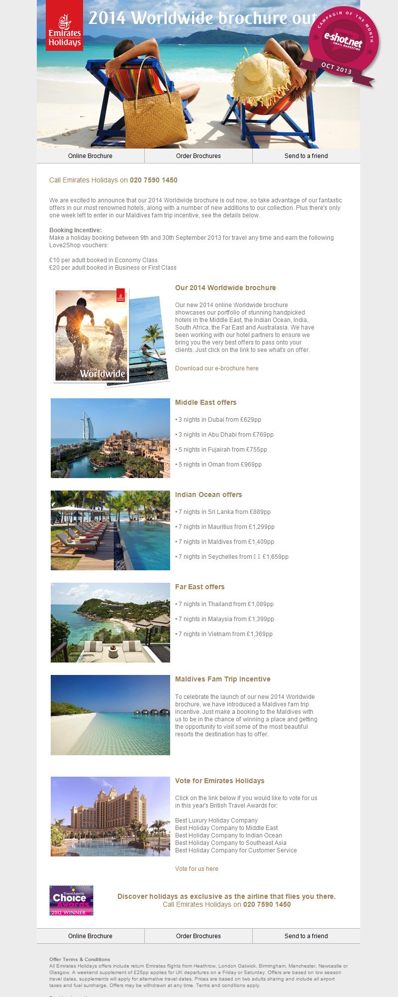 Emirates Holiday