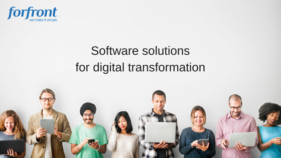 Software solutions for digital transformation (1)
