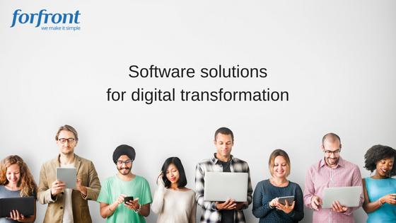 Software solutions for digital transformation (1)